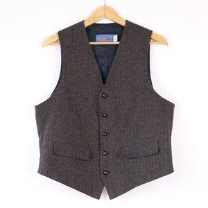 Pendleton Wool Suit Vest